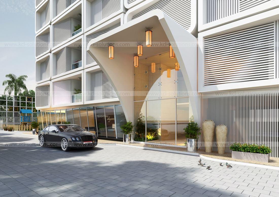 3d architectural exterior rendering studio 3d for Exterior classic design