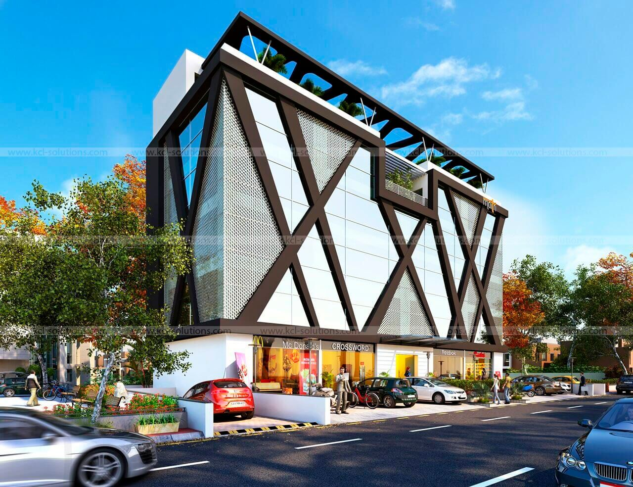 Commercial Architectural Exterior Design