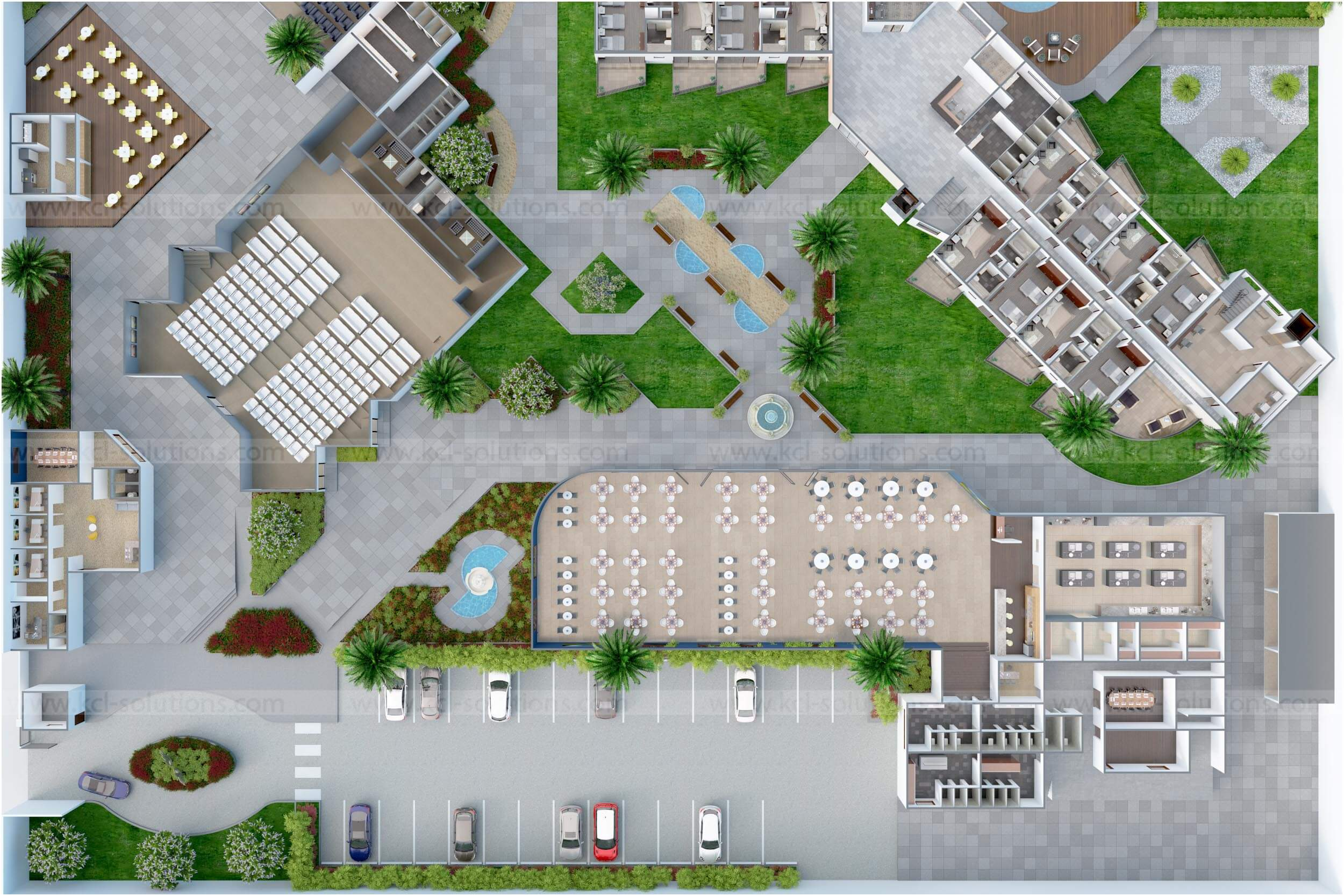 3d Amenities Plan Design