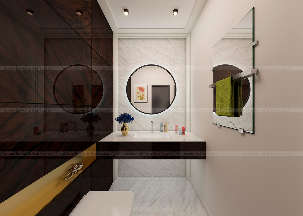 Washroom Interior Design